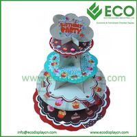 POS Wholesale Cardboard Cupcake Stand