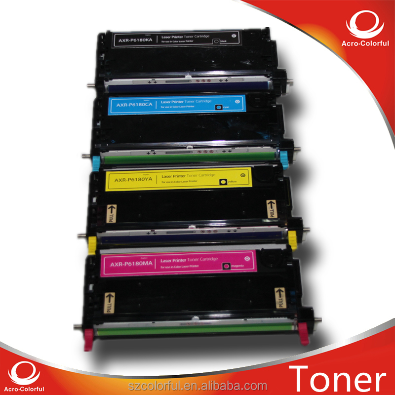 Color Toner Cartridge for Xerox Phaser 6180 Compatible Laser Printer