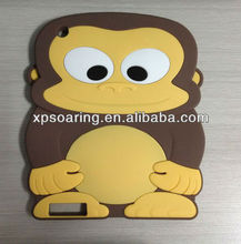 for iPad 2 iPad 3 Monkey silicone case cover
