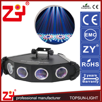 10 channels 4 eyes led star effect stage lighting professional lighting for parties