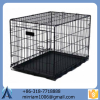 Eco-friedly and stocked galvanized new design large outdoor folding dog kennels/dog cages/pet houses