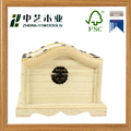 Wholesales handmade rectangular unfinished hinged wooden jewelry gift boxes