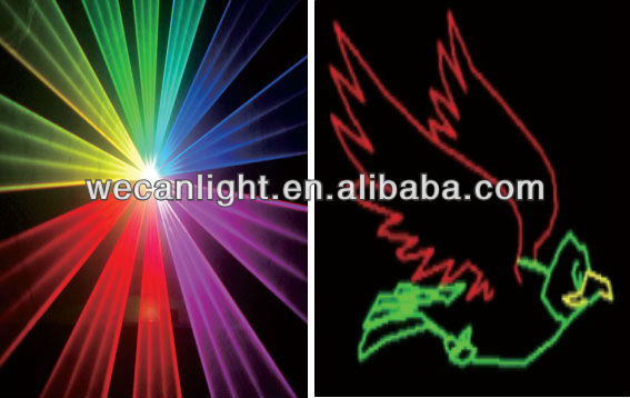 Christmas party!!Hot Sale 500 RGB laser light stage lighting for DJ party club bar