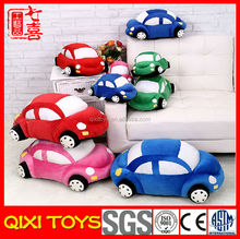 Cute soft plush electric toy car