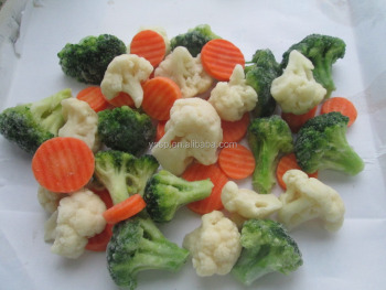 IQF new season vegetables