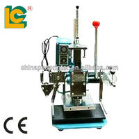 machine to stamp card prices / plastic card embosser machines /embossing press machine leather