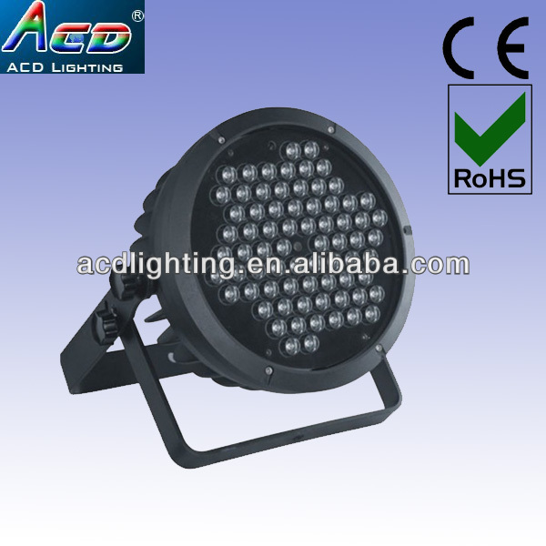 high power 73*3w RGBW/A led disco par light,stage lighting manufacturer