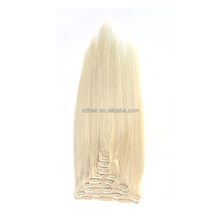 2016 popular color factory price tangle free lovely remy clip in Hair Extension