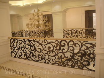 new style wrought iron fence SG-15F003