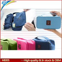 New design Tote bra underwear organizer pouch Travel clothing Sundries storage bags with compartments