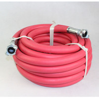 50 FT 1'' Flexible Compressor Rubber Jackhammer Hose Assembly for Jetting Machine