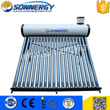 Manufacture non pressure solar water heater project on sale
