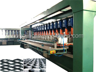 geocell production line for soil stabilizer for road