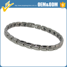 Stainless steel bracelets for couple