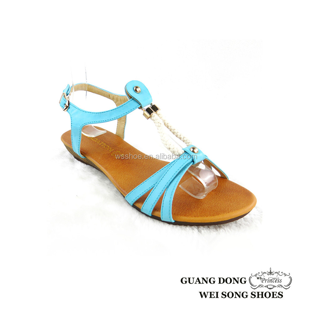 new arrival hot sell fashion ladies wedge sandal 2015