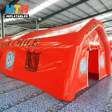 China Made giant inflatable army big tent