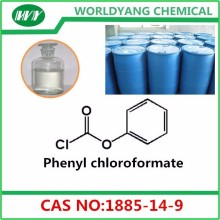 Worldyang Phenyl chloroformate;Carbonochloridic acid phenyl ester;cas no 1885-14-9;White oily liquid