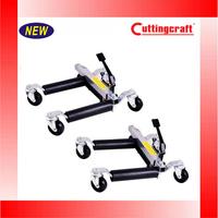 1500lb Hydraulic Positioning Car Wheel Dolly Jack Lift Hoists Moving Vehicle