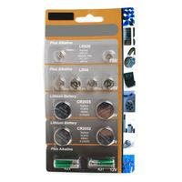 OEM service AG Button cell blister packing: 12pcs LR626 LR44 LR2025 LR2032 A23 A27