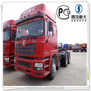 China 6x4 Tractor Head Tractor Trucks for export