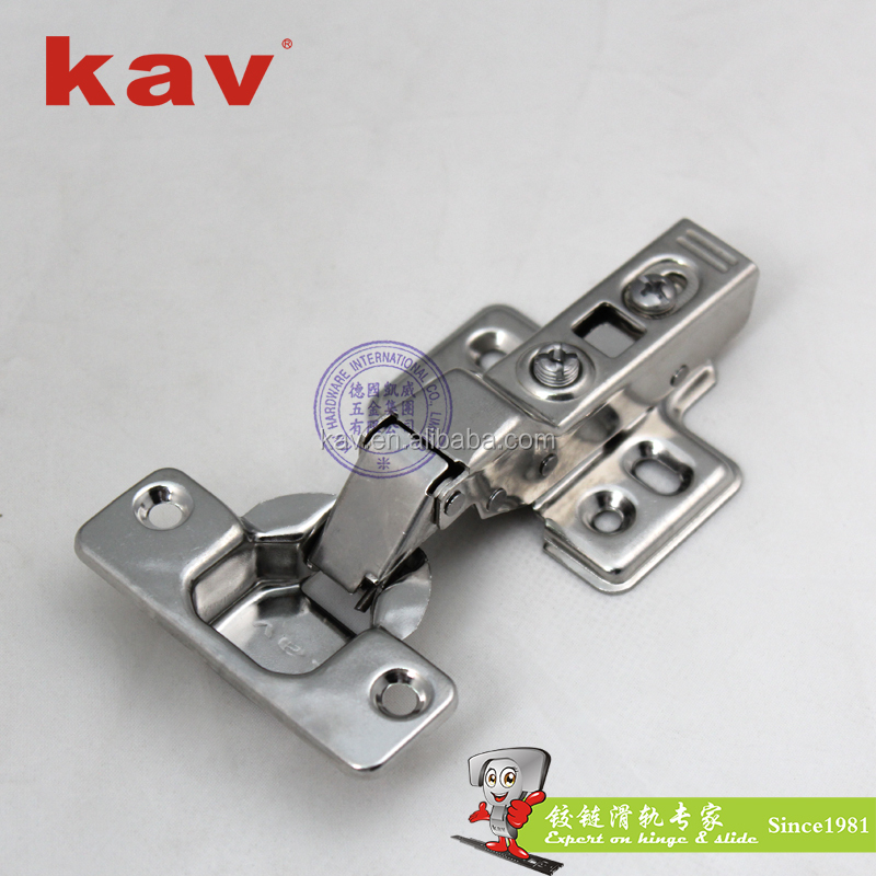 LS201H08 self closing stainless steel hinge SS 201 kitchen cabinet hinges
