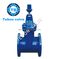 DIN CAST IRON GATE VALVE/gate valve dn80/rising stem cast iron gate valve