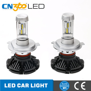 Amazing new series no fan design h7 h11 9012 h4 led lights