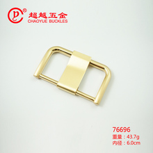 60mm large size pin buckle with wide prong for Bold Belt