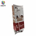 Custom printing coffee bags wholesale side gusset coffee bean packaging bags with valve