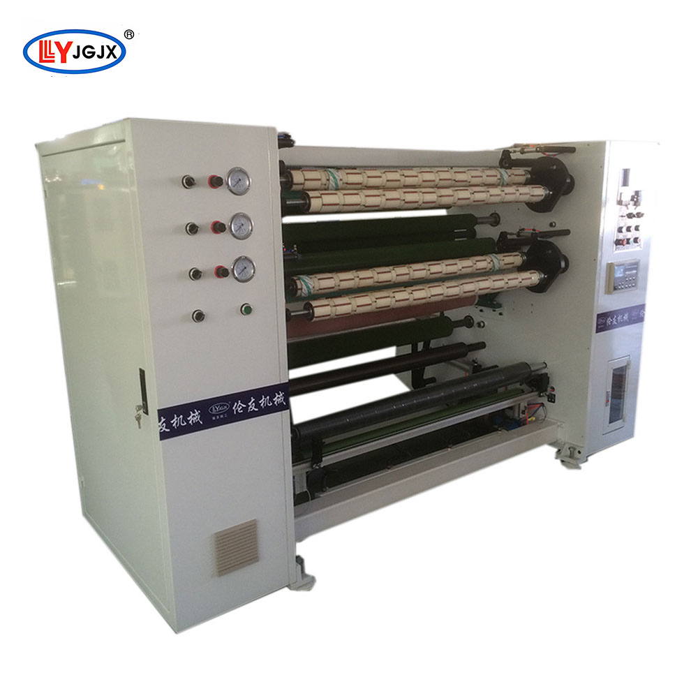 LY 218 Separate High Precision Kitchen Aluminum Foil Slitting Machine