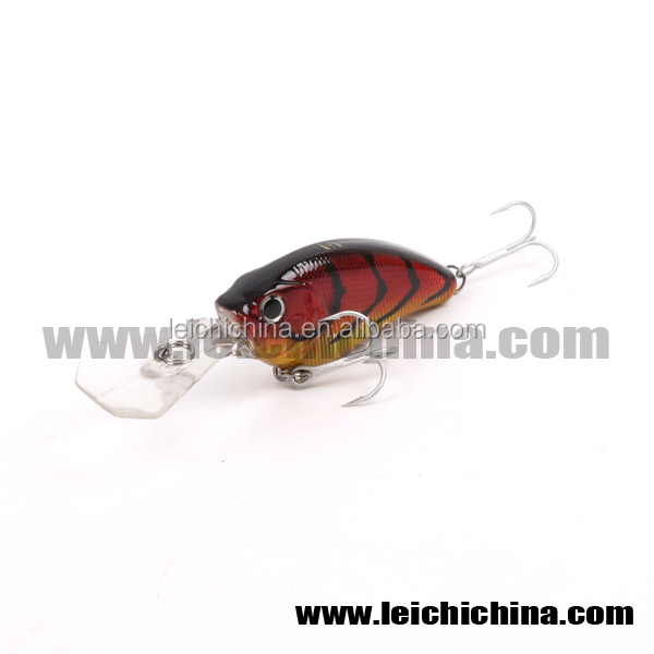 VMC hooks in stock crank bait hard fishing lure