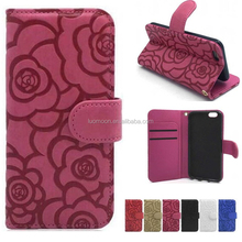 lady embossed flower stand wallet leather phone case for Sony xperia premium compact plus aqua ultra Z M C T E 2 3 4 5 6 7 8