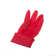 45g red color Mini household latex gloves medical