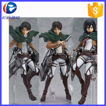 Hot Anime Shingeki No Kyojin Attack On Titan 14cm Mikasa Ackerman Action Figure Pvc Doll Toy