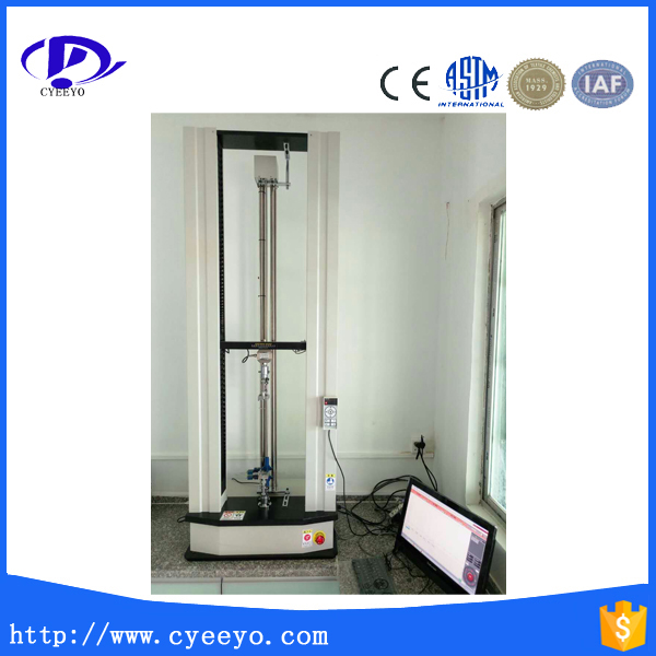 lab rubber tensile strength testing equipment