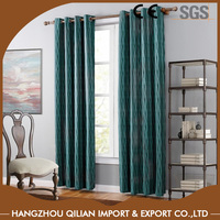100% PolyesterJacquard Luxury Drapes Curtains