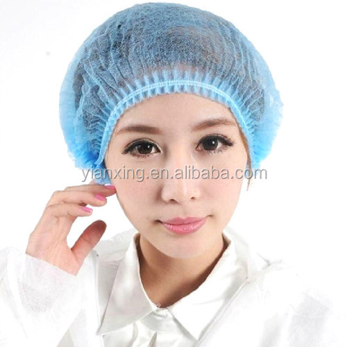 high quality disposable surgeon non woven medical mob head cap/Free sample disposable nonwoven bouffant surgical scrub hair cap