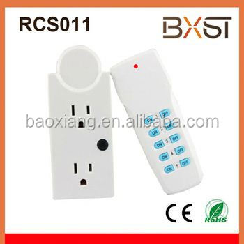 Wireless outlet US remote control Plug Switch Socket