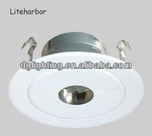 "2014 New products 4"" incandescent low voltage pinhole LED light trims recessed fitting down light with g24"