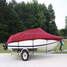 Heavy Duty Waterproof Trailerable Boat Cover (17'-19' V-Hull Runabouts)