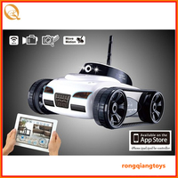 4CH wifi rc tank toy Real-time video transmission radio control tank remote control tank with camera RC8582777-287