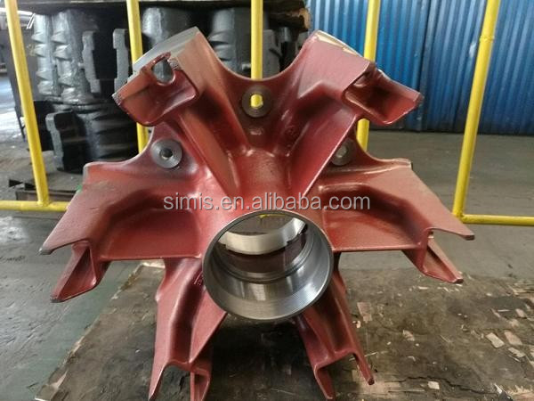 12T / 14T / 16T BPW Trailer Six Spider wheel Hubs