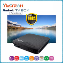 Alibaba China Latest Android 7.1 M8S PRO Android TV Box 2gb 16gb Fastest Running DDR4 RAM Amlogic S912 4K Media Player