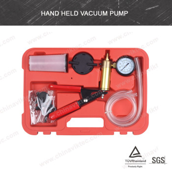 Hand Held Brake Bleeder Tester Set Bleed Kit Vacuum Pump Car Motorbike Bleeding(VT01046)