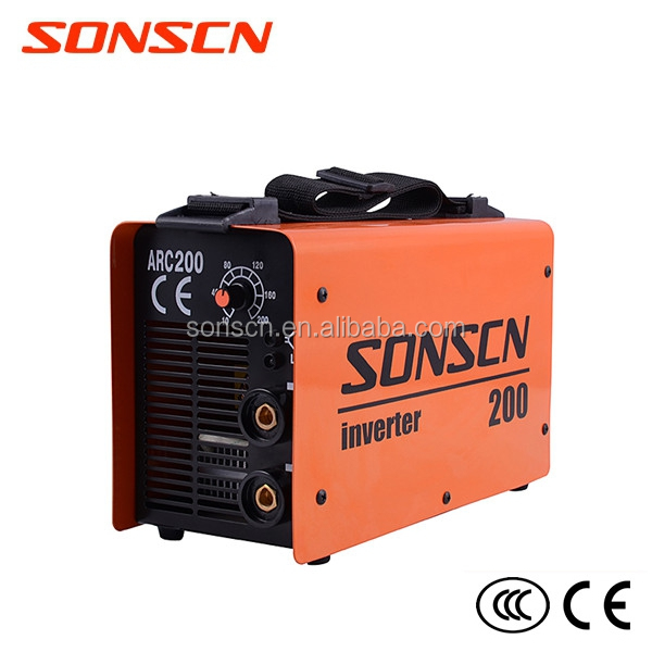 Portable IGBT inverter machine for welding of the metal mma welder