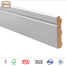 Factory directly supply fillet wood moulding line mdf moulding decorative frame skirting board