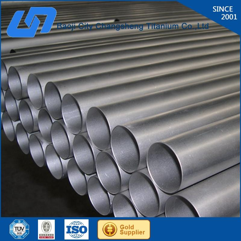 Assessed Supplier welded titanium pipe/tube for Southern Europe