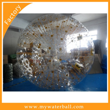 Venta caliente inflable zorb ball con bomba ce ventas al por mayor