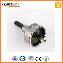 Manufacturer 14mm-100mm High Speed Steel Round Hole Cutter With Step For Cutting Iron, Steel, Stainless Steel, Plastic