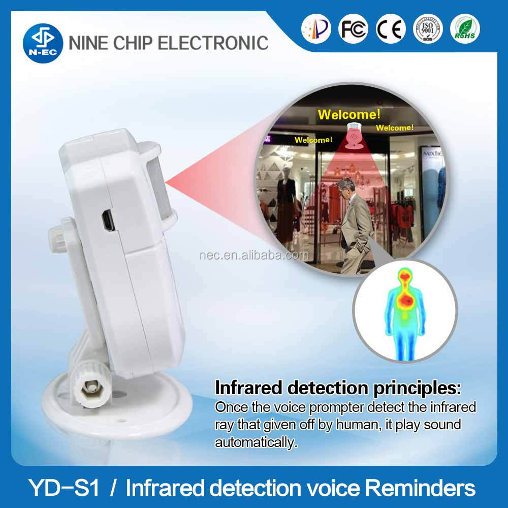 Motion sensor alarm wifi and motion sensor with voice